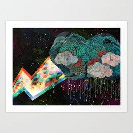 Cloud 9 Art Print