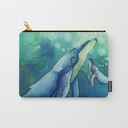 Mama & Baby Whale Carry-All Pouch