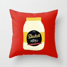 Duke's Mayonnaise Throw Pillow