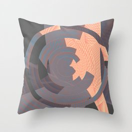 long tan and handsome Throw Pillow