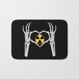 Rad Tech X Ray Skeleton Radiology Technican Gift Bath Mat