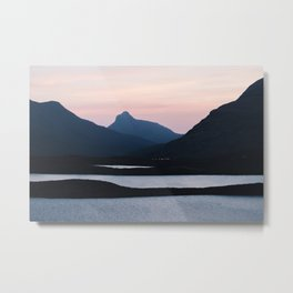 The mountain collection - Assynt, Scotland #5 | landscape fine art photography Metal Print
