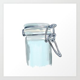 Canister Clasp Art Print