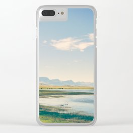 A Path Less Traveled Clear iPhone Case