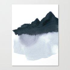 mountain scape minimal Canvas Print