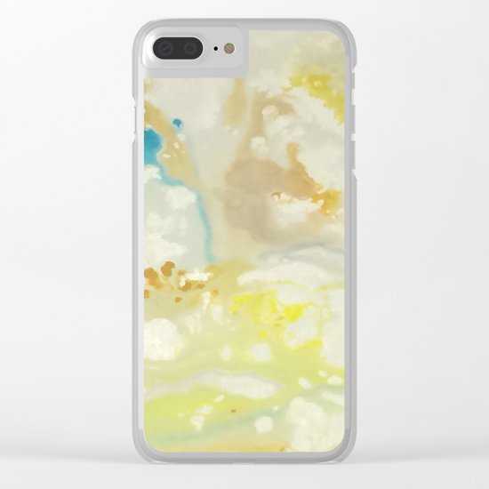 Marbling Series Clear iPhone Case