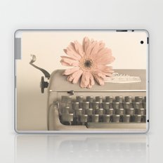 Soft Typewriter (Retro and Vintage Still Life Photography) Laptop & iPad Skin