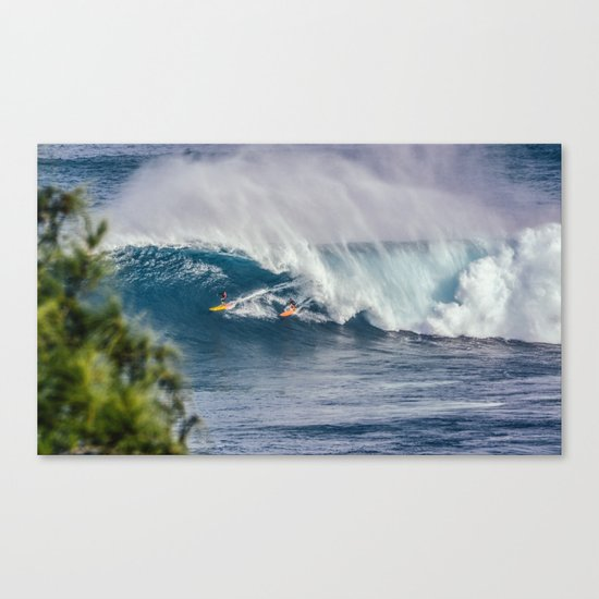 The inner world Canvas Print