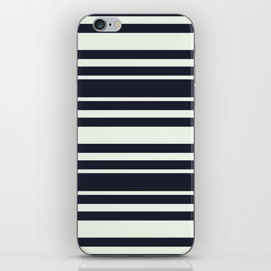 Tisker Black & White iPhone & iPod Skin