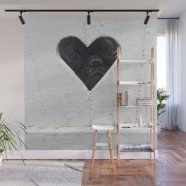Peeking into your heart Wall Mural