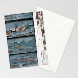 Blue and White Paint Stationery Cards