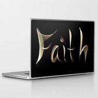 faith Laptop & iPad Skins featuring Faith by Tina Vaughn
