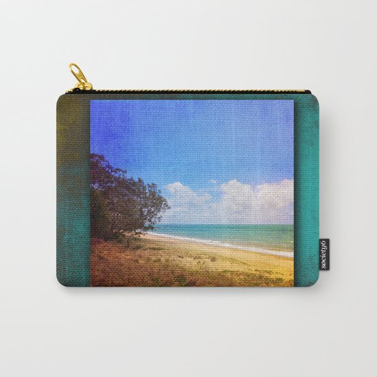Beautiful Day by the Sea Carry-All Pouch