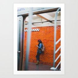 From the New York City Subway Art Print