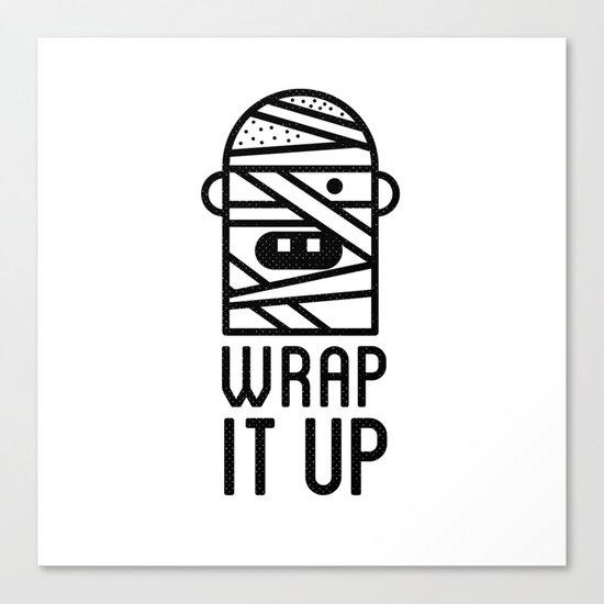 Wrap it Up Canvas Print