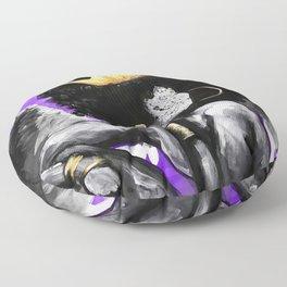 Naturally Queen VI ANGEL PURPLE Floor Pillow