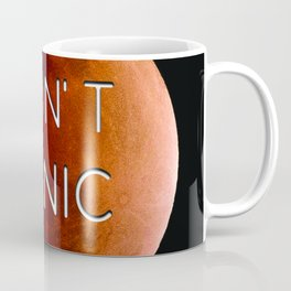 "Elon Musk Mars ""DON'T PANIC"" Coffee Mug"