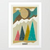 fifth harmony Art Prints featuring Harmony by bri.buckley