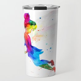 Tinker Bell, colorful Travel Mug