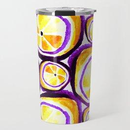 Sweet Plum Lemon Travel Mug