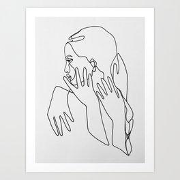 t h o u g h t s Art Print