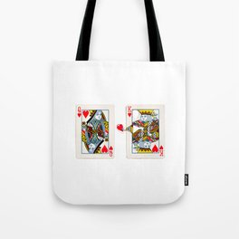 The King knows what the heart wants. Tote Bag