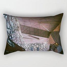 The Atrium, Federation Square Rectangular Pillow