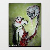 muppet Canvas Prints featuring Muppet Parasite by Dandy Jon