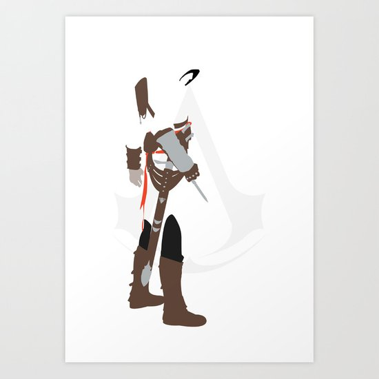 Assassin's Creed - Altair Art Print