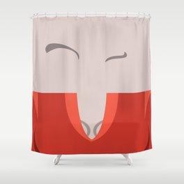 T'Pol - Vulcan - Minimalist - Star Trek: Enterprise - Trektangle - Trektangles - startrek minimalism Shower Curtain