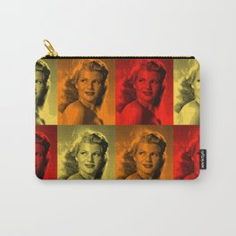Rita Hayworth Color Carry-All Pouch