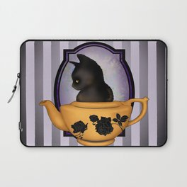 Teapot Cat Laptop Sleeve