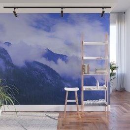 Cloudy Hights Wall Mural