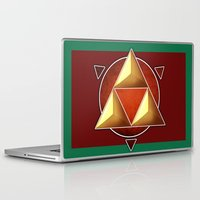 triforce Laptop & iPad Skins featuring Triforce by lythy