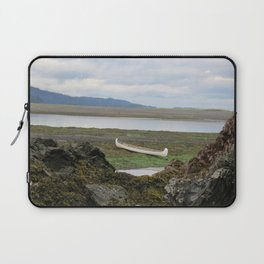 Abandoned :: A Lone Canoe Laptop Sleeve