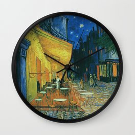 Vincent Van Gogh - The Cafe Au Charbonnage Wall Clock
