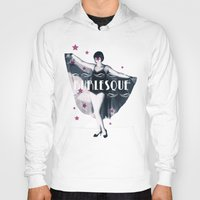 burlesque Hoodies featuring BURLESQUE by TOO MANY GRAPHIX