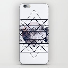 Solar Diamonds iPhone Skin