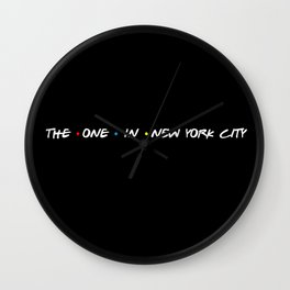 the one in new york city Wall Clock