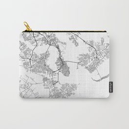 Minimal City Maps - Map Of Charleston, South Carolina, United States Carry-All Pouch