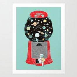 My childhood universe Art Print