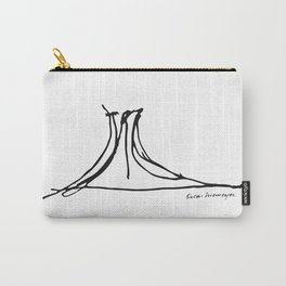 Niterói Contemporary Art Museum - Oscar Niemeyer Carry-All Pouch