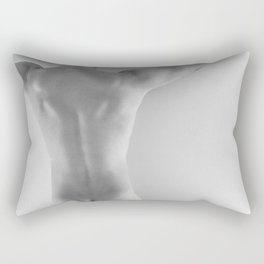 Hands Up Rear Nude Rectangular Pillow