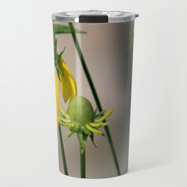 Mexican Hat Wildflowers in Horicon Marsh Travel Mug