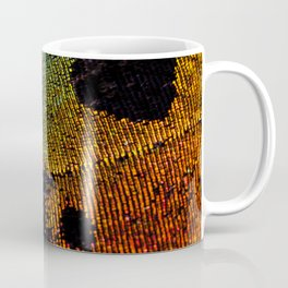 Vibrant Iridescence of The Madagascan Sunset Moth Coffee Mug