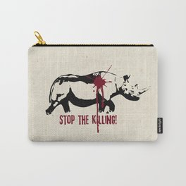 Stop the Killing! Carry-All Pouch