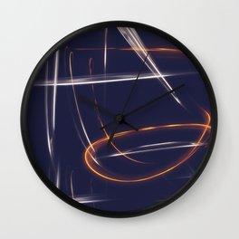 LIGHTNINGS Wall Clock