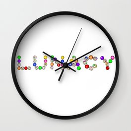 Lunacy Logo (Gumball) Wall Clock