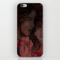 imagerybydianna iPhone & iPod Skins featuring sketch study; tea time  by Imagery by dianna