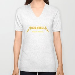 Master of Pizzas Unisex V-Neck